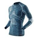 X-Bionic Energy Accumulator Evolution Man Turtle Neck Blue/White/Melange