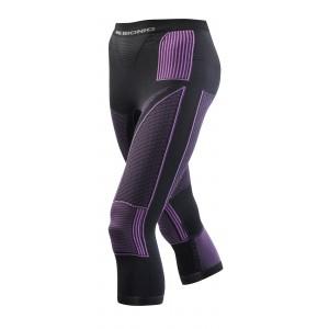 X-Bionic Energy Accumulator Evolution Women Pants 3/4 Charocal/Fuchsia