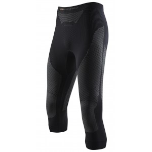 X-Bionic Ski Touring Man Pants Medium 3/4 Black/Anthracite