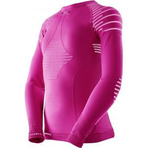 X-Bionic Invent Junior Shirt Pink/White