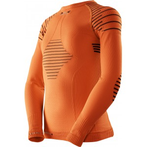 X-Bionic Invent Junior Shirt Orange Sunshine/Black
