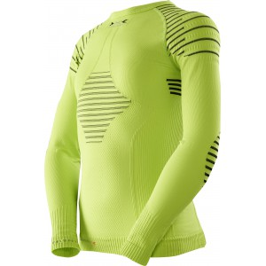 X-Bionic Invent Junior Shirt Green Lime/Black