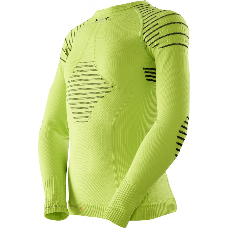 X-Bionic Invent Junior Shirt Green Lime/Black
