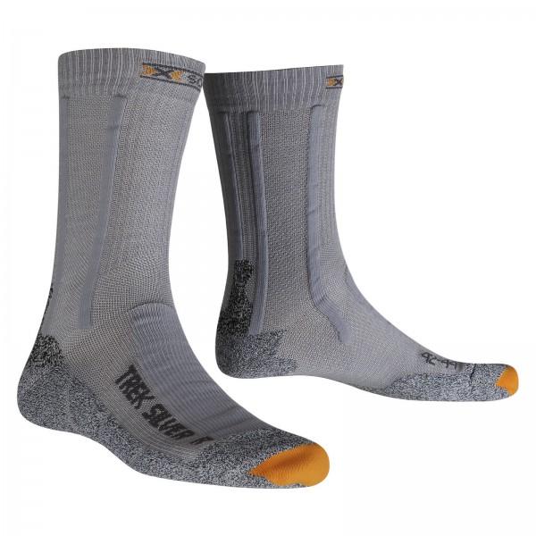 X-Socks Trekking Silver Grey/Grey Melange
