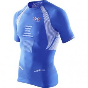 X-Bionic The Trick Running Shirt Man Royal Blue/White