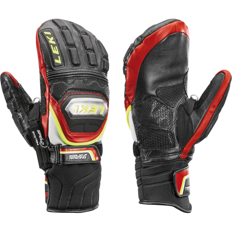 Leki Worldcup Racing Titanium S Mitten Speed System Black