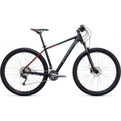 Cube Aim SL 29er Black´n´Flashred 2017