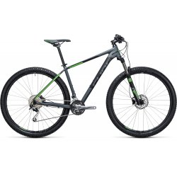 Cube Analog 29er Darkgrey´n´Green 2017