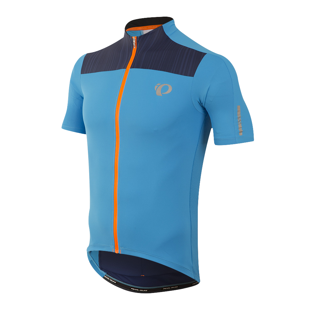 Pearl Izumi Elite Pursuit Jersey Bel Air Blue Blue Depths Rush 1112... baf748cd2