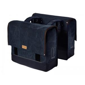 Basil Urban Fold Double Bag 40l / 55l Dark Blue
