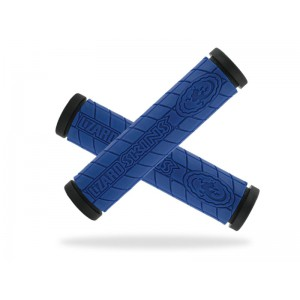 Lizard Skins Logo Dual Compound Grip Blue