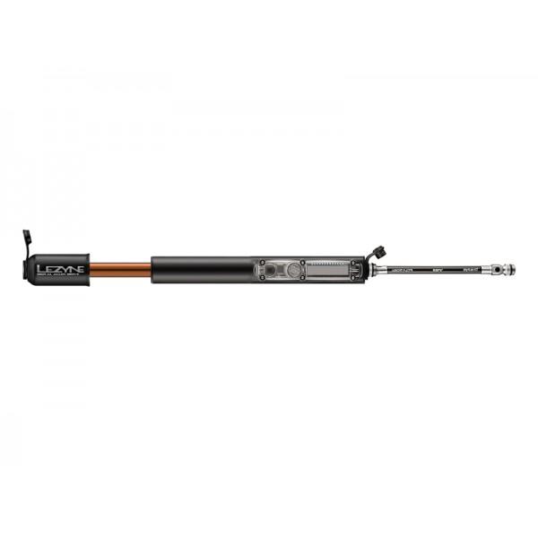 Lezyne Digital Alloy Drive HV M ABS 90 psi 216 mm Black