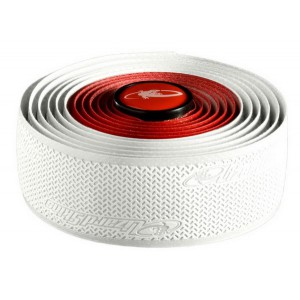 Lizard Skins DSP 2.5 Dual Color Bar Tape Red White
