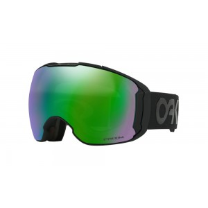 Oakley Airbrake XL Factory Pilot Blackout Prizm Jade Iridium/Prizm Rose