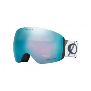 Oakley Flight Deck Hazard Bar Slate Ice Prizm Sapphire Iridium
