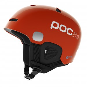 POC Pocito Auric Cut Spin Fluorescent Orange