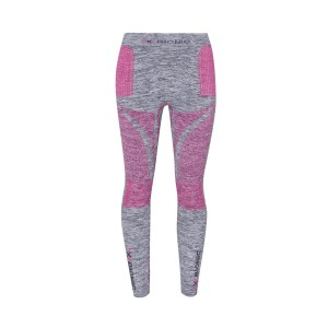 X-Bionic Energy Accumulator Evolution Women Pants Long Grey/Pink/Melange