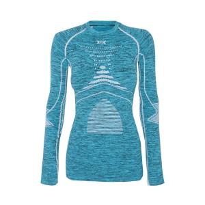 X-Bionic Energy Accumulator Evolution Woman Shirt Blue/White/Melange