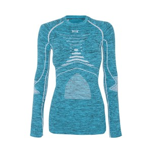 X-Bionic Energy Accumulator Evolution Woman Shirt Blue/White/Melange