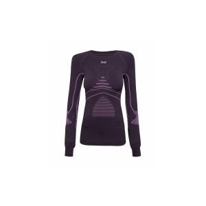 X-Bionic Energy Accumulator Evolution Woman Shirt Charocal/Fuchsia