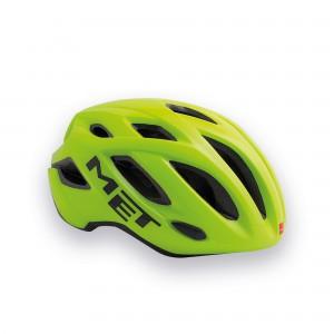 Kask rowerowy Met Idolo jaskrawo żółty