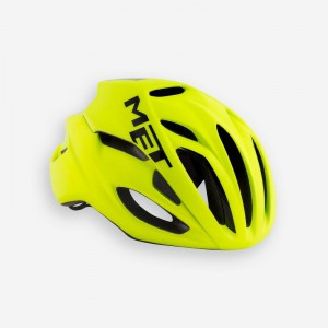 Met Rivale Hes Safety Yellow Matt Glossy