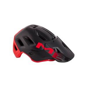 Kask rowerowy Met Roam czarno czerwony