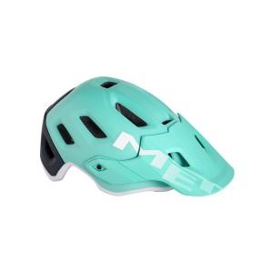 Kask rowerowy Met Roam niebieski miętowy