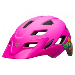 Bell Sidetrack Youth Matte Pink Blossom