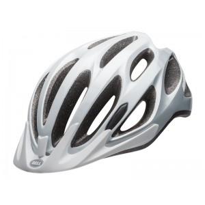 Kask rowerowy Bell Traverse biało srebrny