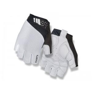 Rękawiczki rowerowe Giro Monaco II Gel White