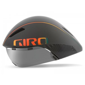 Giro Aerohead Mips Matte Grey Fire Chrome