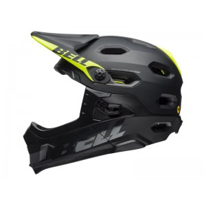 Bell Super Dh Mips Matte Gloss Black