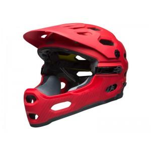 Kask rowerowy Bell Super 3R Mips czerwony