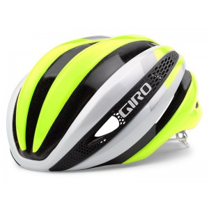 Giro Synthe Matte White Highlight Yellow