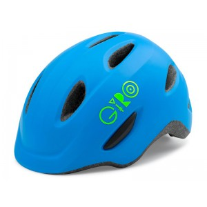 Giro Scamp Matte Blue Lime