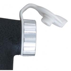 Topeak PEAK DX II WHITE  - zatyczka przeciw kurzowi