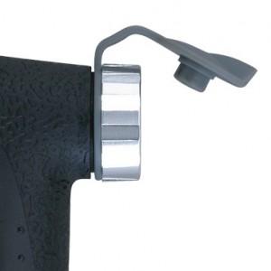 Topeak PEAK DX II BLACK  - zatyczka przeciwko kurzowi