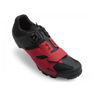 Giro Cylinder Dark Red Black