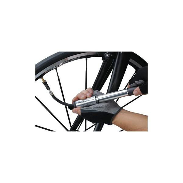 Topeak RACEROCKET SILVER  - wyjmowany wężyk