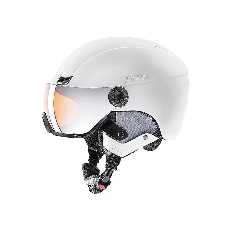 Uvex Hlmt 400 Visor Style White Mat