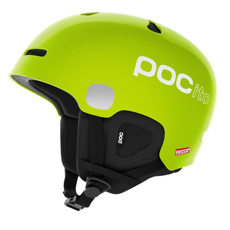 POC Pocito Auric Cut Spin Fluorescent Yellow Green