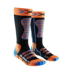 X-Socks Ski Junior Orange/Blue