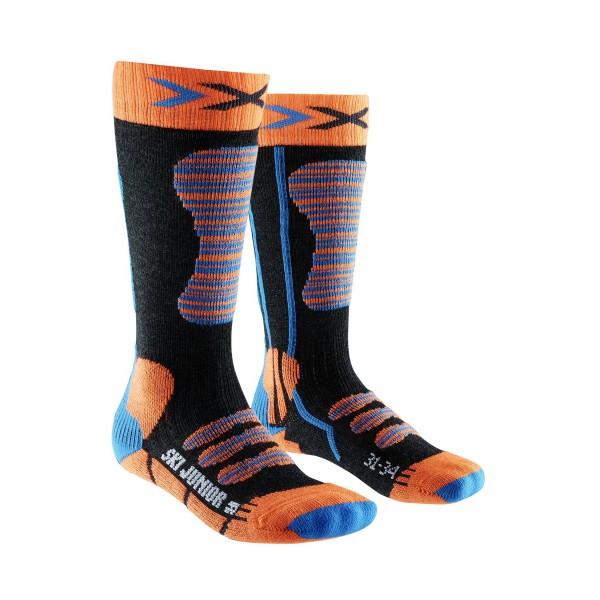 X-Socks Ski Junior Orange/Blue