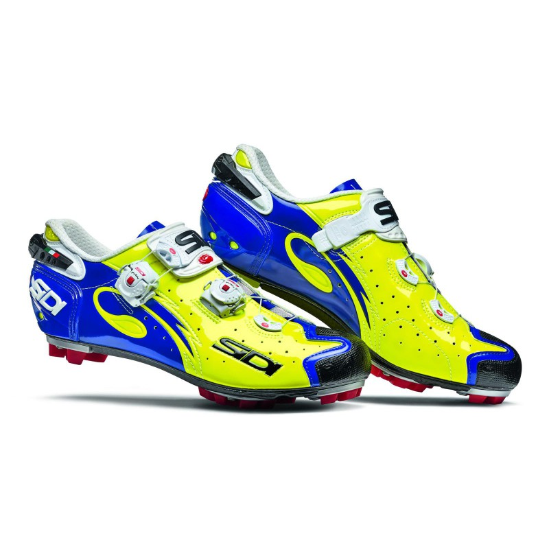 Sidi MTB Drako SRS Carbon Yellow Blue