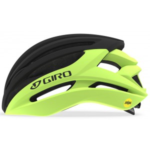 Kask Giro Syntax Mips Highlight Yellow Black