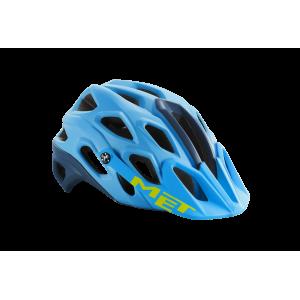 Kask rowerowy Met Lupo Blue Matt