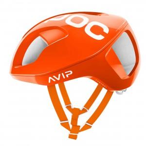 Kask rowerowy POC Ventral Spin Zink Orange Avip