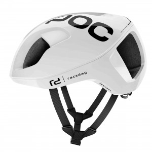 Kask rowerowy POC Ventral Spin Hydrogen White Raceday