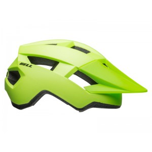 Kask rowerowy Bell Spark Matte Bright Green Black